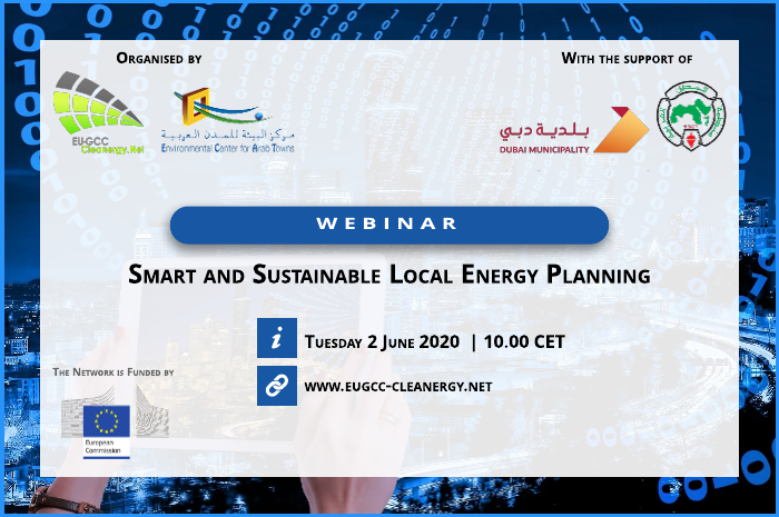 "Webinar ""Smart and sustainable local energy planning"""