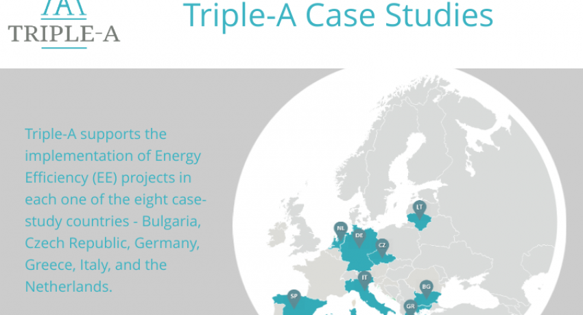 Infographic on Triple-A Case Studies