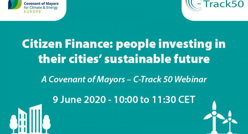 2nd Covenant of Mayors - C-Track 50 webinar